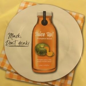 LAB for you juice up pumpkin mask/superfood 🎃